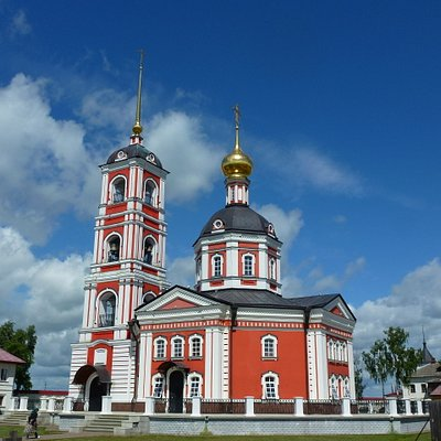 Собор Троицы Живоначальной - Свято-Сергиев Троице-Варницкий монастырь.
