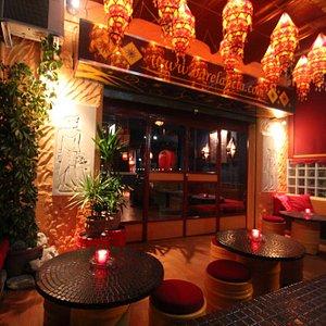entrance to bar el ancla