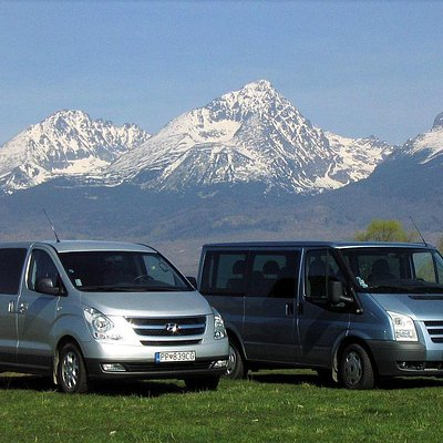 Private transfers with hotel pick up and drop off in comfortable air-conditioned minivans