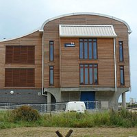 Northern end view of Shoreham Lifeboat Station.