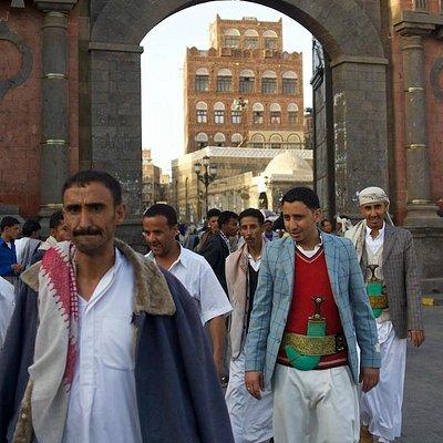 Bab al-Yemen: doorway to the eternity..
