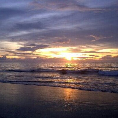 sunset werur beach