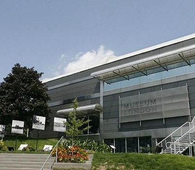 Museum London is located at the Forks of the Thames River in downtown London, Ontario