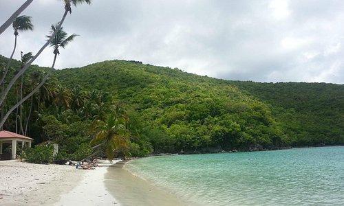 Maho Bay beach, nice, gentle, beautiful