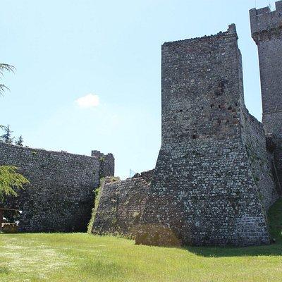 Veduta della Rocca dall'interno
