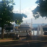 Lahaina Harbour is easily accessible behind the Old Courthouse, off Hotel & Front Street