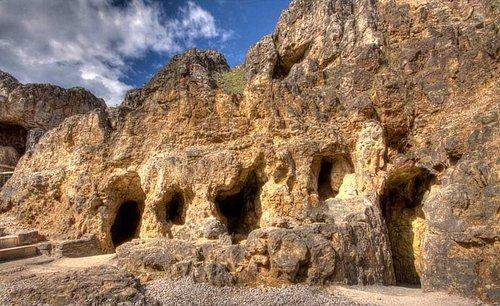 mine entrances