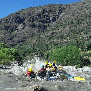 Rafting Rio Maipo