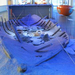 A Phoenician ship