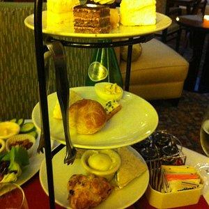 High Tea includes plenty of foods, so be prepared!
