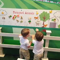 Farm animal magnets when you first enter.
