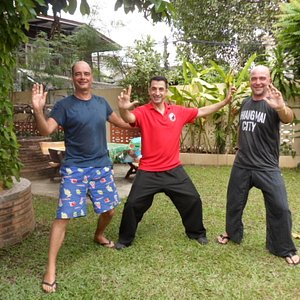 Tai Chi with a Smile..:-)