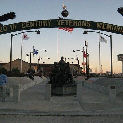 America's 20th Century Veterans' Memorial, exit 177