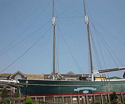Tivoli the Schooner of Schooner's Wharf