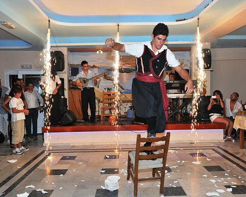 fire dance, chair dance.