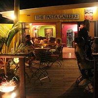 The Pasta Gallery, Tobago, Patio
