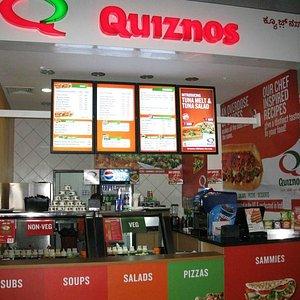 Quiznos counter