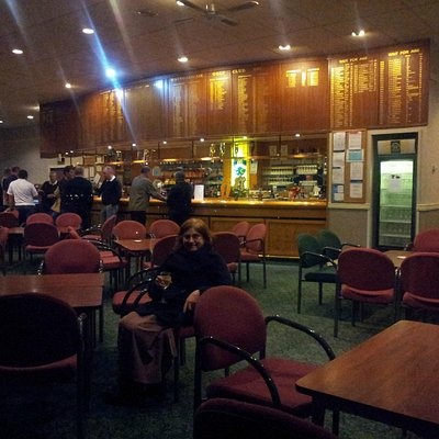 The Club Bar, early evening