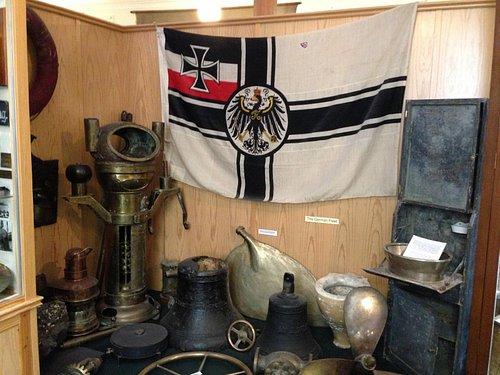 Part of the Imperial German Navy display