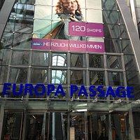 Eingang Europa-Passage