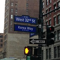 This way to koreatown!