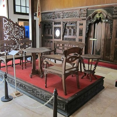 Exquisite furniture - Sonobudoyo Museum