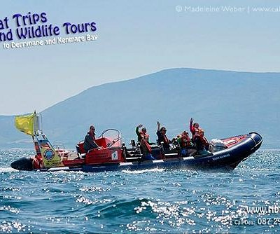 Ribtrips to Derryane and Kenmare Bay with Des on board the MC lolar na Mara