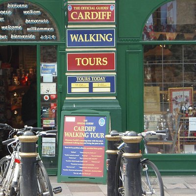 Our location, Castle Welsh Crafts (opposite Cardiff Castle)