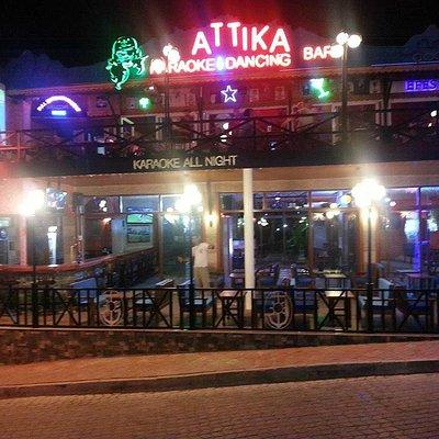 Attika Main bar and karaoke bar