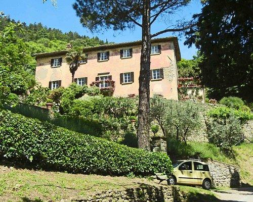 "Villa Bramasole, and our car ""Limoncello"""