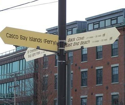 Commercial Street Signs