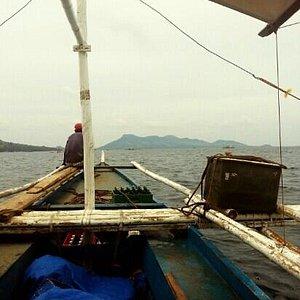 en route to sicogon island