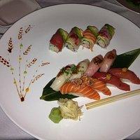 Fusion Sushi dinner