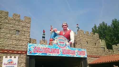 Gulliverandia, entrata