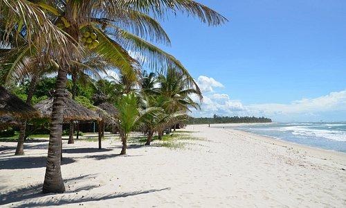 Strand Richtung Kongo River