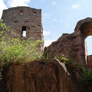 Eingang zur Oberen Burg