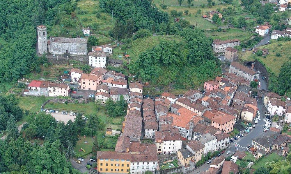 Gallicano - Centro storico visto dall'alto
