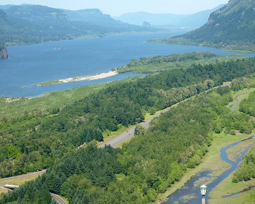 View from Vista House, Columbia River