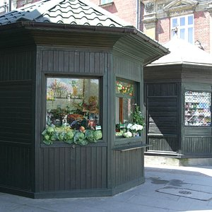 Kiosks in Podgorze
