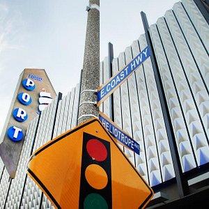 Port Theater on the corner of...