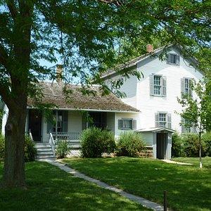 Early American farm house