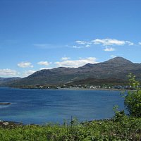 View from Eilean Ban early June 2013