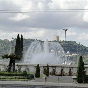 Praça do Império, Belém, Lisboa.