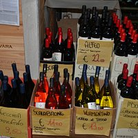 Gute Weinauswahl