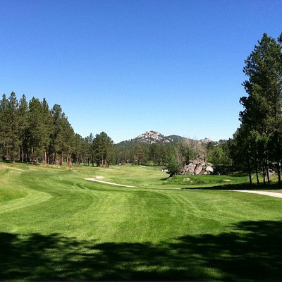 Lots of natural rock and trees create a challenging and beautiful course!