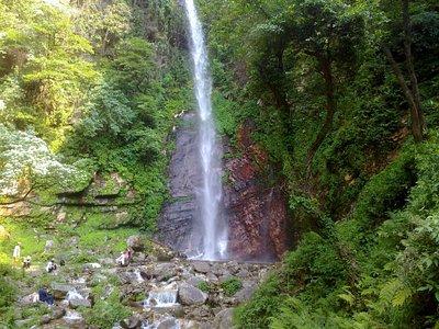 Waterfall near Nagini