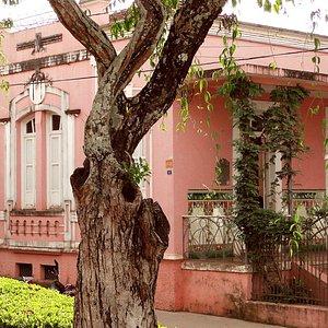 Casa onde fica o museu