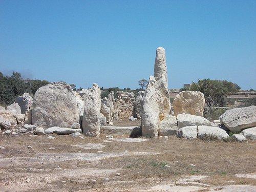At the Hagar Qim Temples site