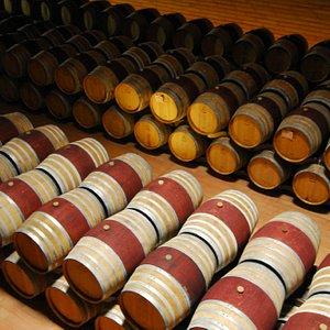 Wine - a lot!
