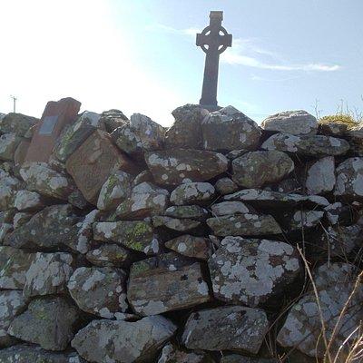 Cairn of Sean O'Neill 1567 aka Shane the Proud